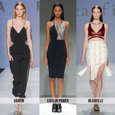 Cutouts - Top 10 Trends from Toronto Fashion Week for Spring 2015 | 29secrets