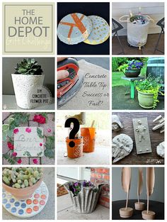 Bottlecap Concrete Trivet + Home Depot Giveaway! - Table and Hearth