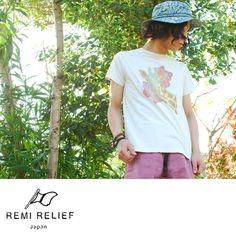 【楽天市場】REMI RELIEF レミレリーフ スペシャル加工 プリントTシャツ・rn13129083(全3色)(S・M・L)【2013春夏】:Crouka LR(クローカ エルアール)