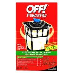 Amazon.com: Johnson S C Inc 14157 Off PowerPad Mosquito Repellent Lamp: Patio, Lawn & Garden - $11.95