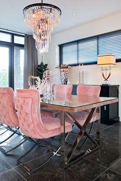 Richmond Interiors - Escape the ordinary Dining Decor, Dining Room Design, Living Room Decor, Luxury Dining Room, Elegant Dining Room, Dining Room Inspiration, Home Decor Inspiration, Richmond Interiors, Glamour Living Room