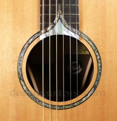 2004 Klein Deco - Custom Limited Edition Acoustic Guitar - Abalone & Pearl Rosette