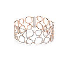 Riva Diamond Cluster Cuff
