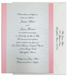 Windsor #Wedding #Invitation