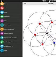 Aplicativo para celular facilita compreensão da geometria