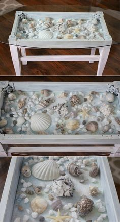 Whether you live at a seaside and would like to accent your coastal home with a few beach-inspired crafts, or you belong to the other group - those who dream of sea and beach during the entire year and would like to have that coastal scent in their homes - here are some great ideas on how to make gorgeous, beach-inspired crafts.
