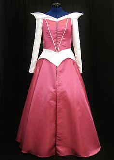 Full body Adult Aurora Dress