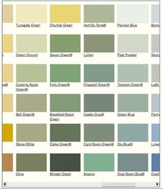 1000 images about farrow and ball on pinterest farrow - Nuancier farrow and ball ...