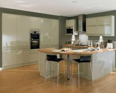 Good island feature - v. Gray And White Kitchen, Grey And White, Kitchen Dining, Dining Room, Curve Design, Kitchen Collection, New Homes, Contemporary, Kitchen Planning