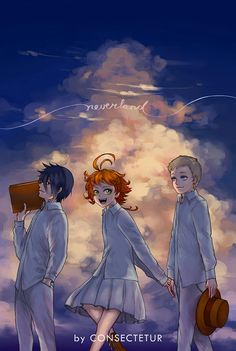 75 Best The Promised Neverland Images Finding Neverland Neverland