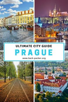 7 of the most beautiful places to visit and best things to do in Prague. A complete city guide including practical tips on hostels and hotels, restaurants and food and getting around. Take in the history and architecture in old town, stand in awe of Prague Castle, take a trip along the river and more. Travel in Europe.  | Back-packer.org #Prague