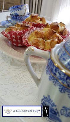 Receta Semana Santa: Torrija cupcake by www.anablay.es & http://lacocinademartablay.blogspot.com.es