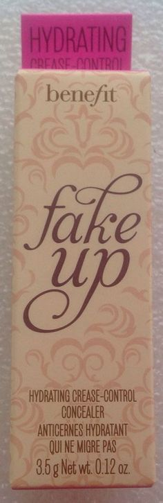 Benefit Fake Up Hydrating Concealer  (02 Medium) Brand New in box! Full Size! #Benefit