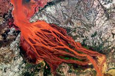 Patterns from space: beautiful satellite images of river deltas around the world - Telegraph