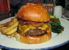 #3: 100 Burgermeisters ate the bacon cheeseburger at Blue Smoke. That's a Burger Weekly record!