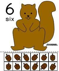 Squirrel Acorn Math Activity