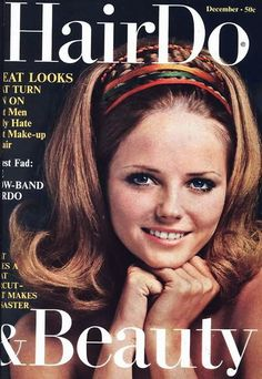 HAIRDO Magazine covers | cheryl tiegs hairdo magazine december 1968