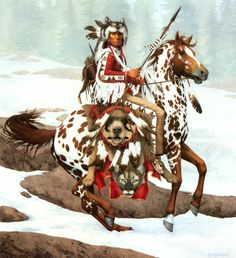 Bev Doolittle...I love the way she hides animals in her paintings.