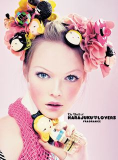 Harajuku Lovers collection - five different perfumes: Love, Angel, Music, Baby, and G.