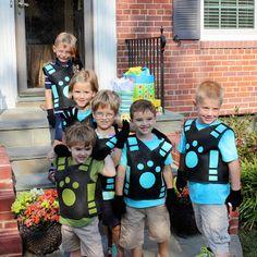 alton boys: Creature Power Vest Tutorial