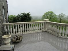 Painting Concrete Balusters