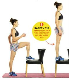 STEP-UP Areas trained: BOTTOM, LEGS