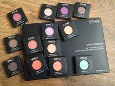 #Kiko #cosmetics #eyeshadows http://www.nikismakeupvault.blogspot.co.uk