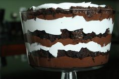 I know the traditional name of this dessert is DEATH by Chocolate. I would like to rename it, ALIVE by Chocolate! This dessert gives your mouth a jolt and rush of sugar that awakens you to the ple...