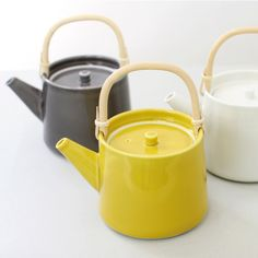 Tea pot yellow
