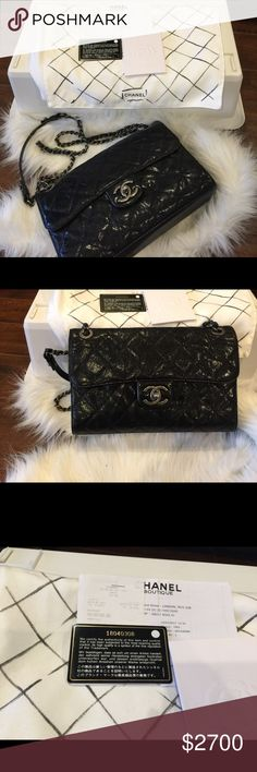 Chanel CC Crave medium Bought from London in 2013. Excellent condition this bag is very similar to chanel classic.  No trade & only transaction thru posh. Price firm.  not eligible for bundle discount. CHANEL Bags Shoulder Bags