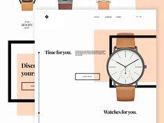 Watches web by Paweł Pniewski