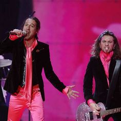 Fatals Picards - 22ème place de l'Eurovision en 2007 (France) - Photo LEHTIKUVA OY/SIPA