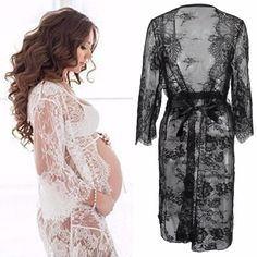 Maternity Clothing Womens Spring And Summer Pregnant Women Ruffled Stripe Cami Jumpsuit Dress Ropa Mujer Invierno Maternity Photography Props Gown Pregnancy & Maternity