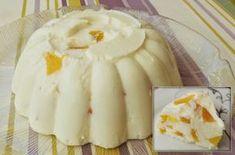 Δροσερό γλυκό γιαουρτιού με ζελέ , τέλειο για τώρα που περιμένουμε καύσωνα! Εκτέλεση Σε μπολ βάζετε το στραγγισμένο γιαούρτι. Ψιλοκόβετε τα φρούτα από την κομπόστα και κρατάτε το ζουμί. Διαλύετε το ζελέ σύμφωνα με τις οδηγίες της συσκευασίας, μόνο που βάζετε 2 ποτήρια νερό συν 1 ποτήρι με το ζουμί της κομπόστας. Το προσθέτετε στο … Greek Sweets, Greek Desserts, Cold Desserts, Greek Recipes, Summer Desserts, Jello Recipes, Sweets Recipes, Cooking Recipes, Flan