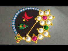 Rangoli Designs Latest, Simple Rangoli Designs Images, Rangoli Designs Flower, Rangoli Border Designs, Colorful Rangoli Designs, Rangoli Ideas, Rangoli Designs Diwali, Flower Rangoli, Beautiful Rangoli Designs
