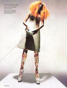 Salo & Séverine — Vogue UK December 2008, Unbelievable Fashion...