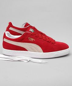 12f9a5269ae Puma Suede Classic red white  puma  sneakers  shoes  streetwear  men