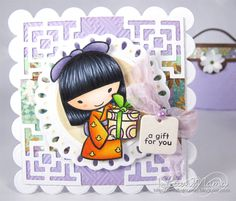 Luvn The Journey - Mariko  **** Sister Stamps available from www.HankoDesigns.com ****