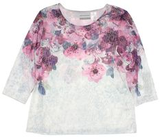 Alfred Dunner Women s Watercolor Floral Top     Unbelievable item right  here!   Plus 2de943c76