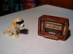 MINIS FOR MORE: 8 - Antique Radio Tutorial  - Spanish