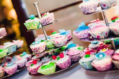 Delicious wedding cupcakes ♥