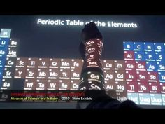 PERIODIC TABLE at Chicago's Museum of Science and Industry. - YouTube