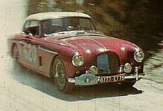 1956 Alpine Rally: Revillon's Aston Martin DB2
