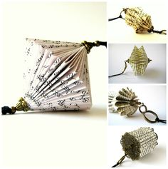 Paper Jewelry Book Sculpture by Malena Valcarcel http://cort.as/8iEN