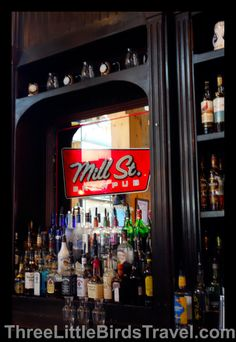 Make sure you take a trip to the Distillery District in Toronto, Canada! Check out Mill St. Brew Pub while you're there and stop for a tasty beverage.