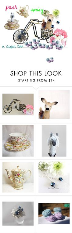 """""""fresh spring"""" by shelikesthis ❤ liked on Polyvore featuring interior, interiors, interior design, home, home decor, interior decorating, Fenton, integrityTT and EtsySpecialT"""