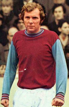 Bobby Moore of West Ham in 1971.