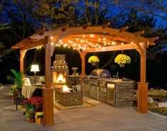 Outdoor : Prefab Outdoor Kitchen Contemporary Gazebo Pergola Canopy Ideas Wooden Gazebo Canopy Backyard Screened Gazebo Outdoor Wooden Gazebo Outdoor Kitchen Gazebo Outdoor Gazebo' Pergola With Roof' Pergola Design Plans along with Outdoors Back Patio, Backyard Patio, Patio Gazebo, Backyard Canopy, Backyard Fireplace, Cheap Gazebo, Nice Backyard, Romantic Backyard, Pvc Canopy