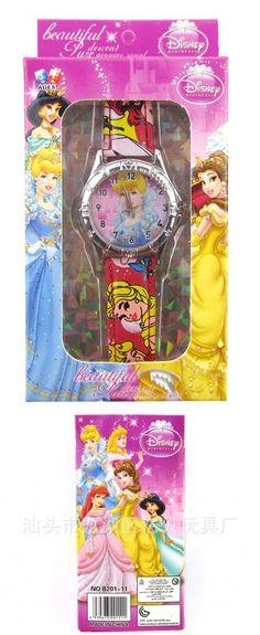 Free shipping 20pcs/lot snow white kids watch princess Wristwatch and box Party Gifts