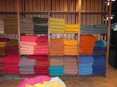 Textielmuseum, Tilburg, Effect van ordening van kleuren